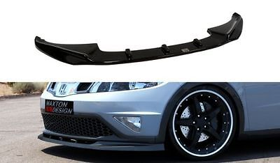 Cup Spoilerlippe Front Diffusor Honda Civic MK8 Facelift