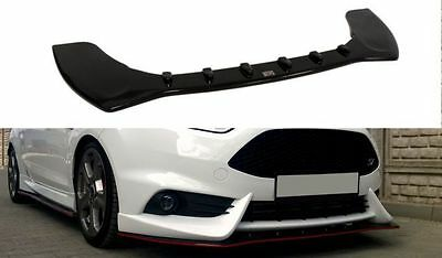 Cup Spoilerlippe Front Diffusor Carbon FIESTA MK7 ST Facelift 2013+