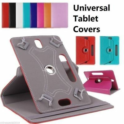 "360 Universal 10.1"" 7"" Inch Rotate Tablet Flip Case Adjustable folding stand"