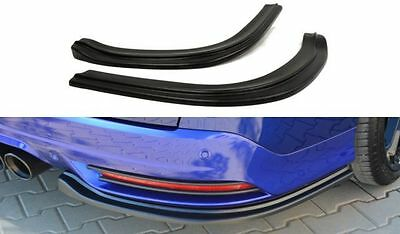 Heck Ansatz Flaps Cup Diffusor Spoiler Carbon Look Ford Focus 3 ST VARIANT + ABE