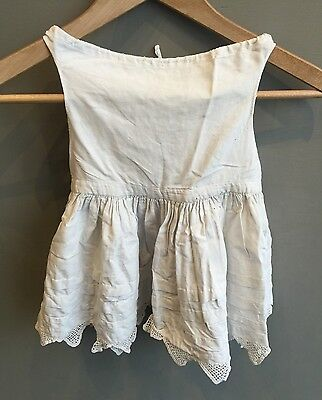 Vintage Cotton Girls/toddlers Embroidered Underwear Slip Petticoat Dress
