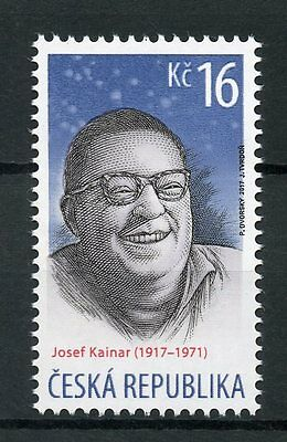 Czech Republic 2017 MNH Poet Josef Kainar 1v Set Poets Writers Literature Stamps