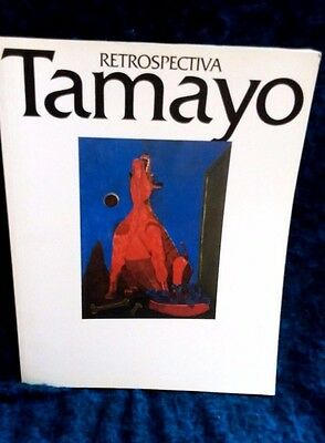 Rufino Tamayo,Retrospectiva Japan Exhibition Book 1993