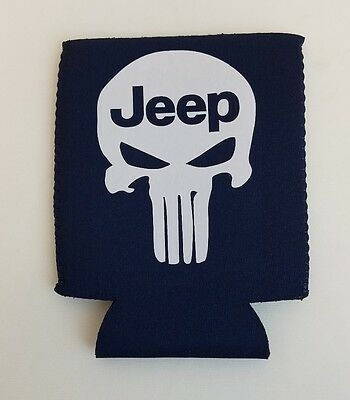 Jeep Punisher    Nation Koozie  Rubicon Beer / Can /bottle Water Jk
