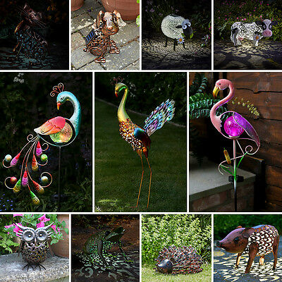 Festive Lights Solar Power Outdoor Novelty Light Up Animal Decoration Path Light