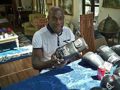 Frank Bruno signed boxing glove direct from management £42 free postage