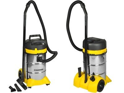 Industrial Vacuum Cleaners Wet Dry 40L STAINLESS STEEL 1400W + Nozzle #2301
