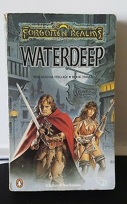 Dungeons and Dragons novel. forgotten realms. WATERDEEP. 1989/90