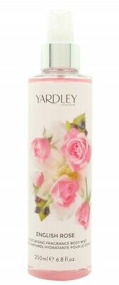 Yardley English Rose Fragrance Mist - Women's For Her. New. Free Shipping