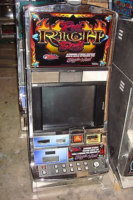 Reel Rich Devil Video Slot Machine  Williams Coinless  Casino Fun For Your Home
