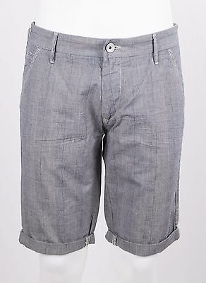 Bermuda Gas Noal Short Cotton Check Galles Con Sfumato Beige Chino Regular Fit