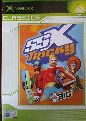 ssX Tricky Xbox Original Game Complete with Manual Pal