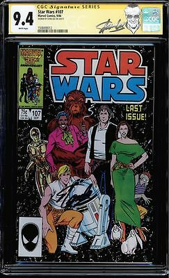 Star Wars #107 Cgc 9.4 Ss Stan Lee Signed Last Issue Gorgeous Copy #1508498012