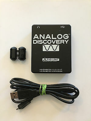 Analog Discovery 100MS/s USB Oscilloscope & Logic Analyzer