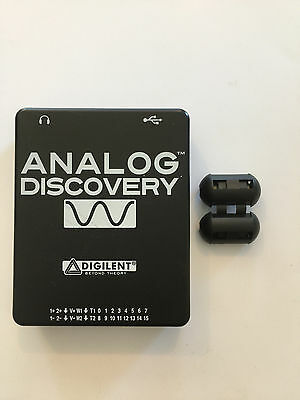 Analog Discovery 100MS/s USB Oscilloscope & Logic Analyzer ( No Cables)
