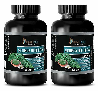 Organic india Moringa - MORINGA OLEIFERA EXTRACT - weight loss - 2 Bottles