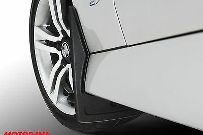 Genuine GM Holden Moulded Rear Mudflaps Suit VE VF Commodore Sportwagon 92274043