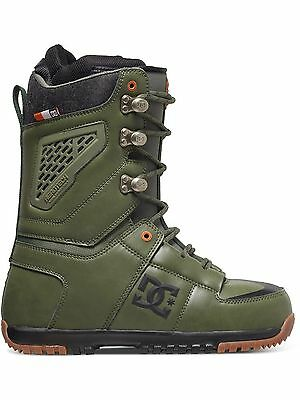 DC Military Green Lynx Snowboard Boots