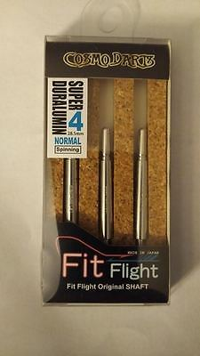 COSMO FIT SUPER DURALUMIN NORMAL SPINNING #4 SHAFTS 28.5mm  FOR FIT FLIGHTS ONLY