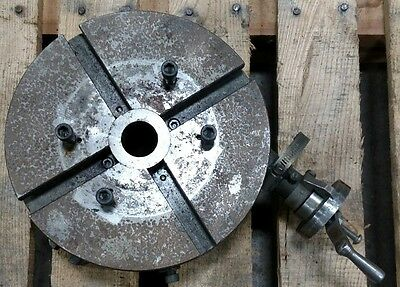 """Bridgeport Milling Machine 9"""" 360° Rotary Table From The Historic Marble Arms Co"""