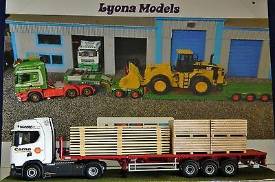 1:50 Scale Mixed Load, Planks & Ply Wood, Heavy Haulage, Code 3,