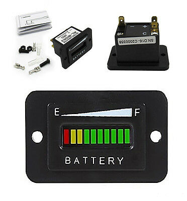 48V Volt Battery Indicator Meter Gauge For Ezgo Club Car Yamaha Golf Cart Motor