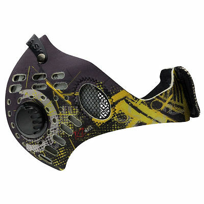 RZ Mask M1 Digi Yellow Air Filtration Youth Protective Masks