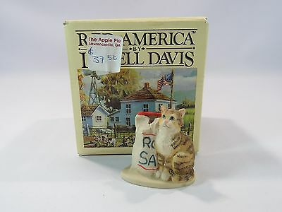 R.F.D. America Lowell Davis Sunday Afternoon Treat Hanging Ornament Missing JH