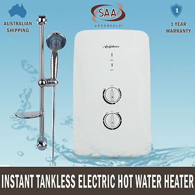 NEW Instant HWS Electric Hot Water Heater Bathroom Shower Tankless