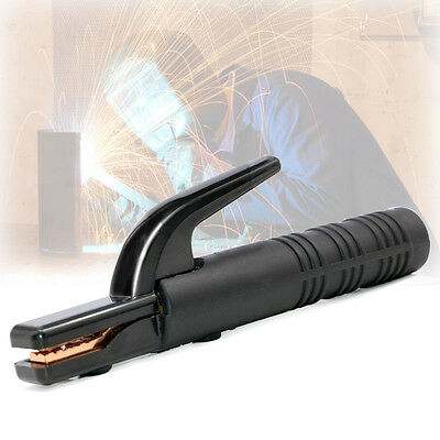 500Amp Electrode Holder Welding Accessories with Copper Silicone Black