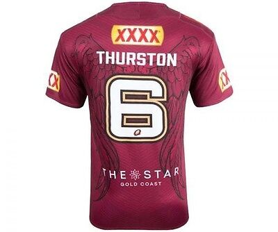 QLD State of Origin Maroons 2017 JT Jonathan Thurston Farewell Jersey