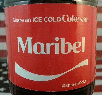 Share A Coke With Maribel 2017 Limited Edition Coca Cola Bottle