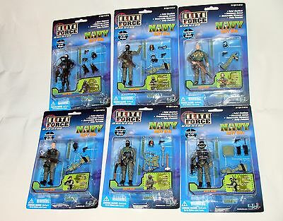 1:18  BBI Elite Force U.S Army Navy SEAL Soldiers Squad Set Figures 3 3/4""