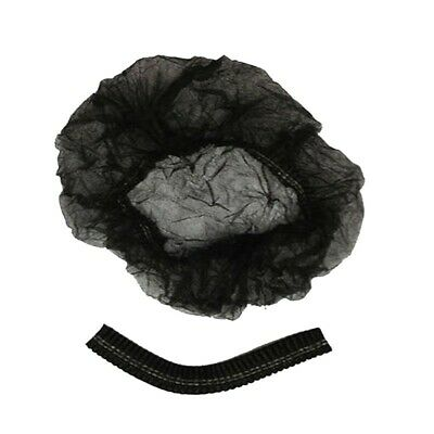 """Shield Safety Disposable mob caps clipped hair head cover net 21"""" 100 Pcs"""
