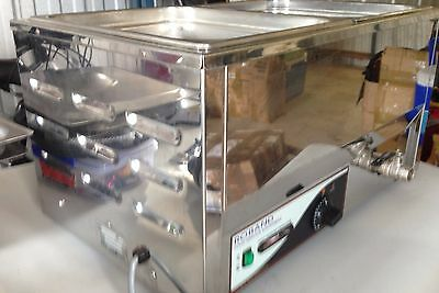 Roband, Stainless Steel Bain Marie, Double Benchtop