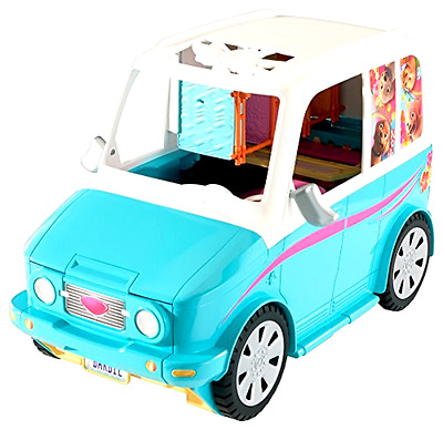 Play Dolls Barbie Ultimate Puppy Mobile Toy Transforming Vehicle and Accessories