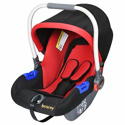 Besrey Car Seat Safety Seat Baby Cradle Group 0+ Especially for Newborn 0-13kg