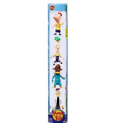 NIP•Disney Phineas and Ferb Collector Set•3inch PVC Action Figures