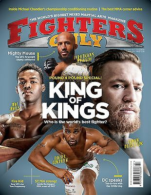 Fighters Only Magazine Issue 157 (August 2017 Issue)