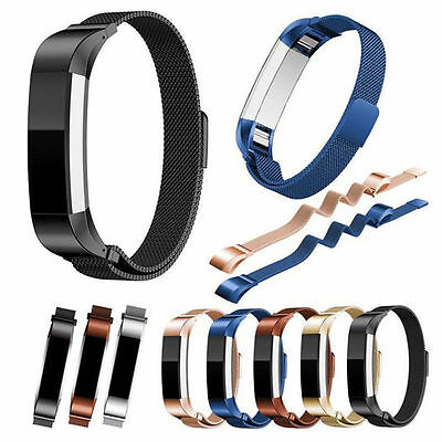 Stainless Steel Metal band Wrist Watch Strap Bracelet Clasp For Fitbit Alta HR