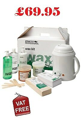 Wax Heater Kit - Waxing Strips, Spatulas Warm Wax Equipment 1000CC  SPD0040