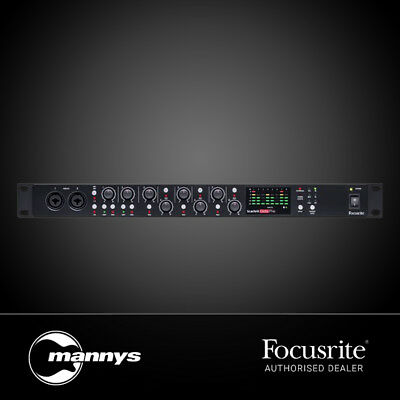 Focusrite Scarlett OctoPre 8-Ch Mic Pre-Amp w/ ADAT Connectivity