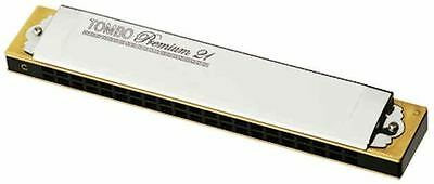 Tombo Premium 21 Harmonica 12 Keys Available