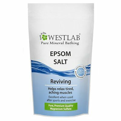 Westlab Epsom Salt Resealable Stand Up Pouch 1 kg - Pack of 1