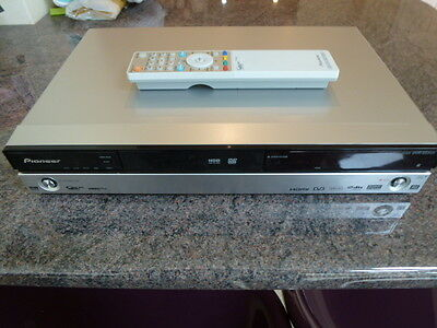Pioneer Multiregion DVR-550HX-S DVD Freeview PVR 160GB HDD Recorder with remote.