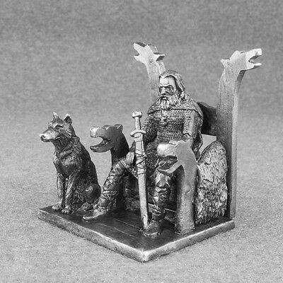 Figurine Handmade Viking 1/32 Action Norman Tin Metal Antique Toy Soldier 54mm