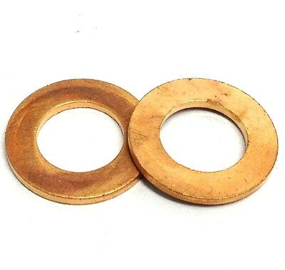 4mm 5mm 6mm 7mm 8mm 9mm 10mm 11mm 12mm 13mm 14mm Copper Sealing Washers - Sump