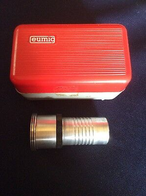 Eumig Eupro-Zoom Projector Lens And Case 1:1.3 F15-25