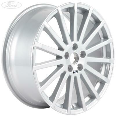 "Genuine Ford Focus RS 19"" Performance Alloy Wheel 8.5X19 Silver Set Of 4 1692722"