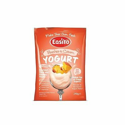 Easiyo Peaches & Cream Premium Yoghurt Mix 240g